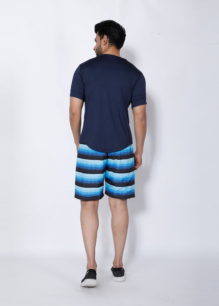 Shades of Blue Boardshorts