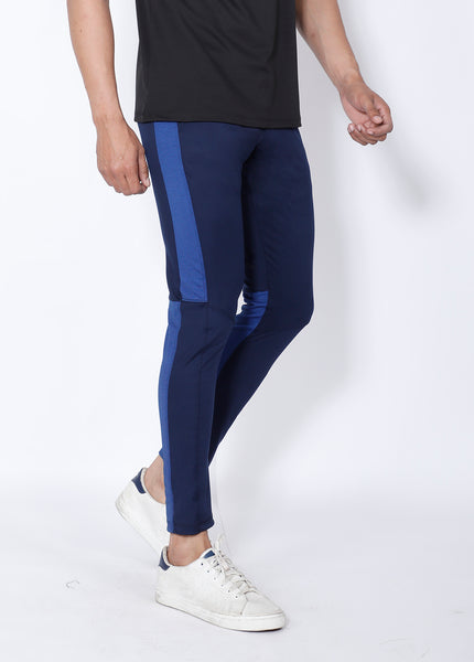 Navy Royal Slim-Fit Trackpants