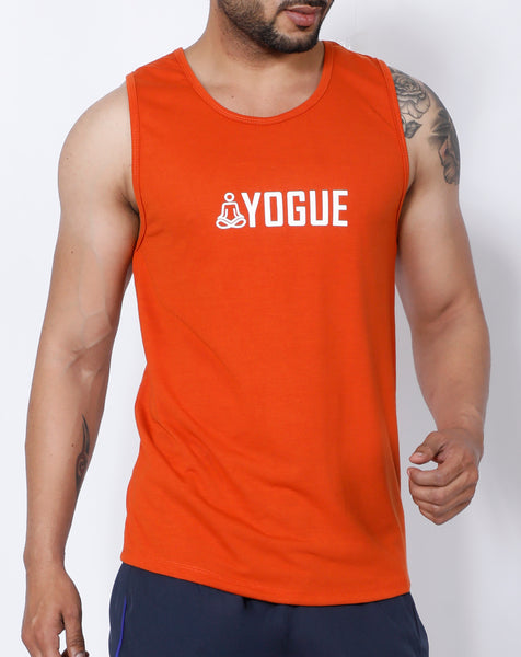 Orange Yogue Tank