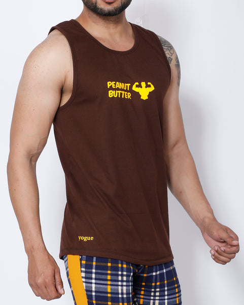 Brown Peanut Butter Tank