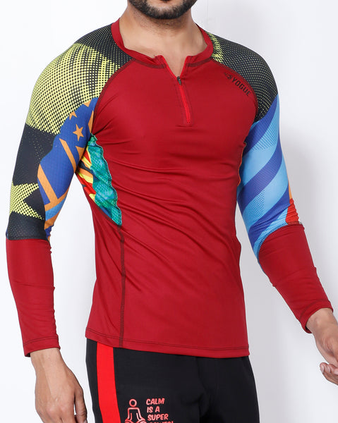 Superhero Full Sleeve Compression
