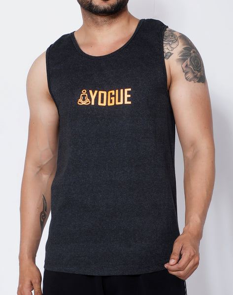 Anthracite Orange Yogue Tank