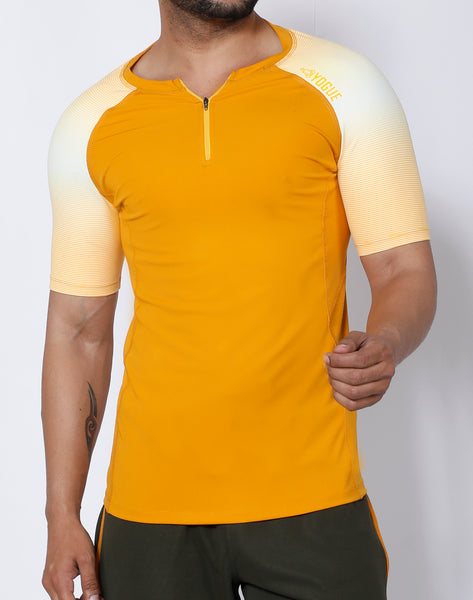 Mustard Yellow Compression T-Shirt