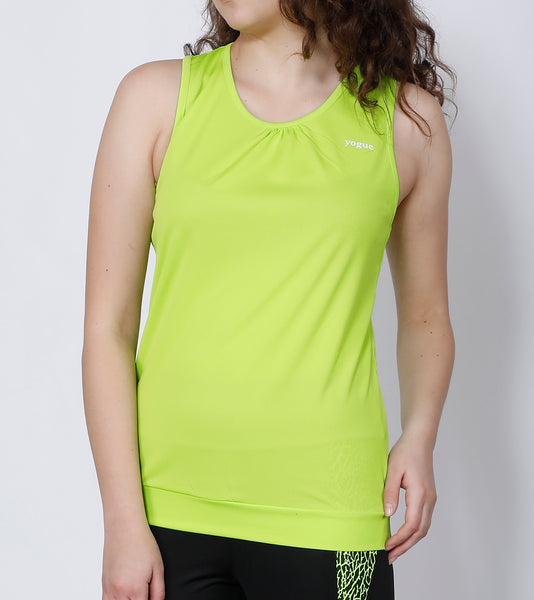 Neon Green Comfort Fit Tank Top