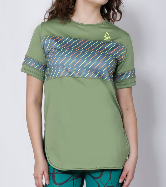 Pista Green Long T-Shirt