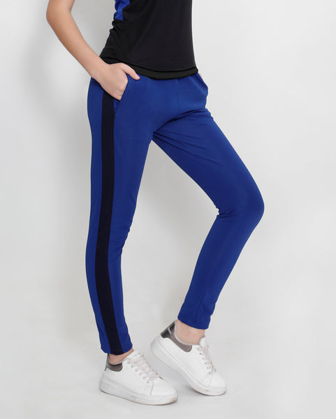 Royal Blue Slim Fit Joggers