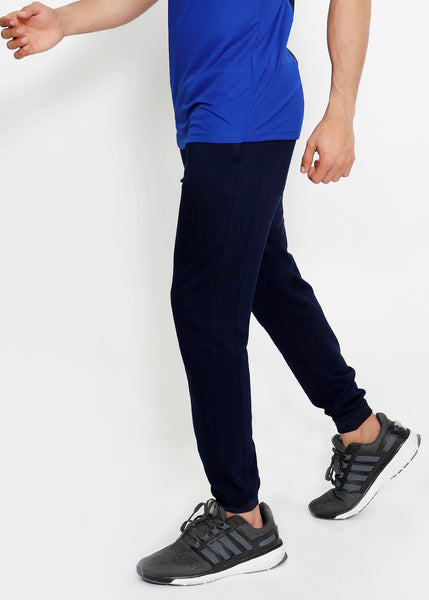 Navy Yogue French Terry Joggers