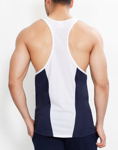 Navy & White Flex Stringer