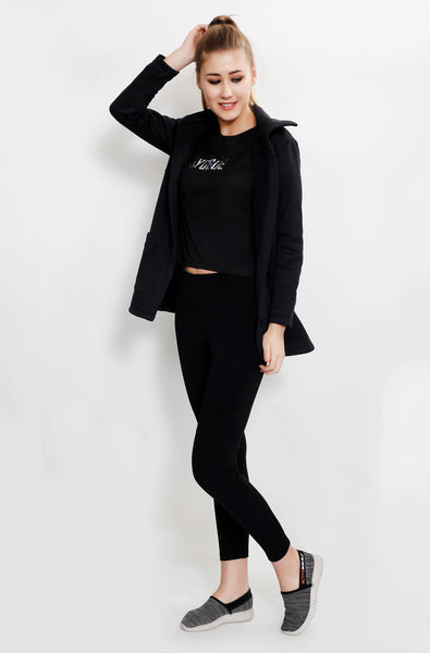Black Long Jacket