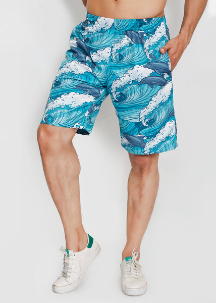 Jumping Dolphins Boardshorts
