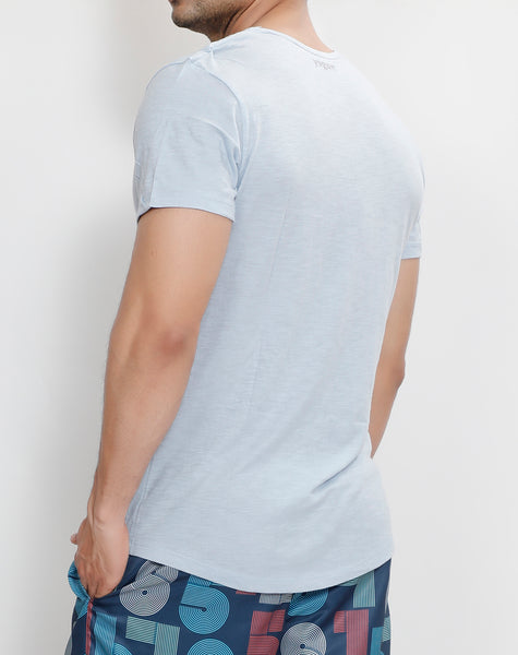 Light Blue Roundneck T-Shirt