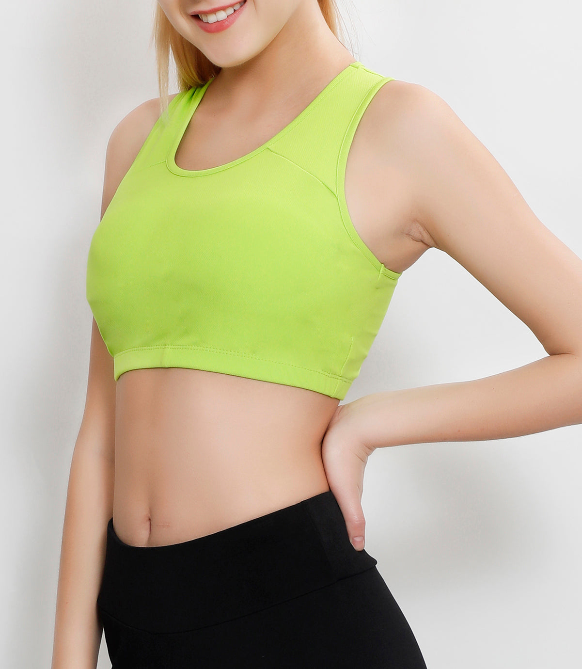 3cd30adc6 Lime Green Short Top