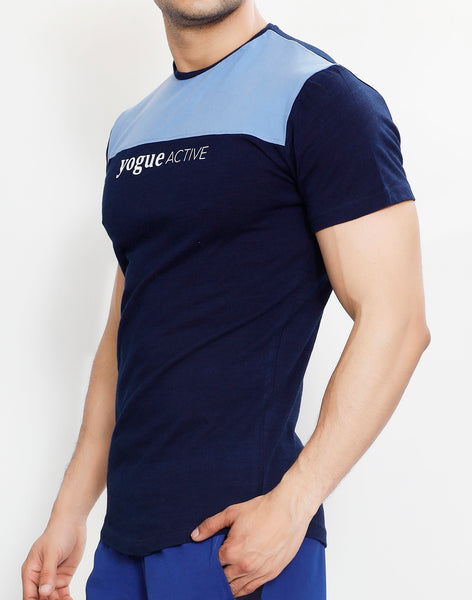 Navy Sky Roundneck T-Shirt