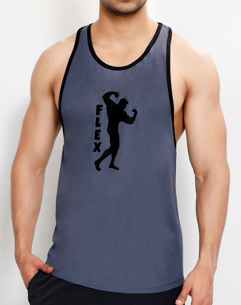 Grey Black Flex Stringer