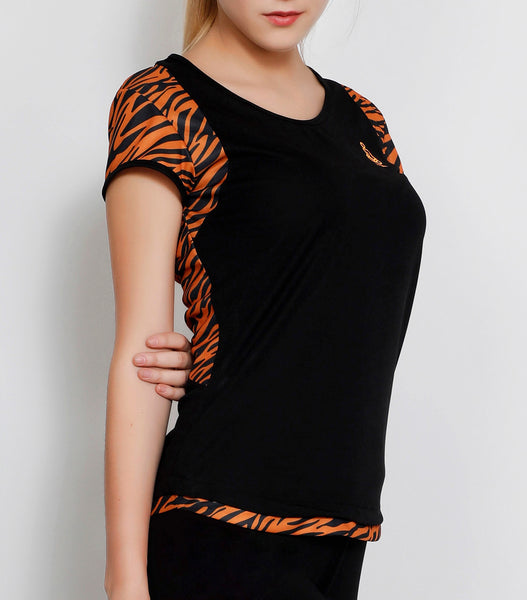 TigerStripes Racerback T-Shirt