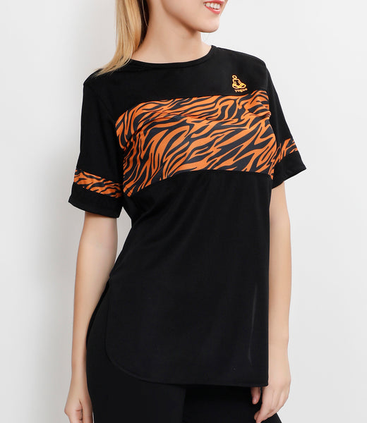 TigerStripes Long T-Shirt