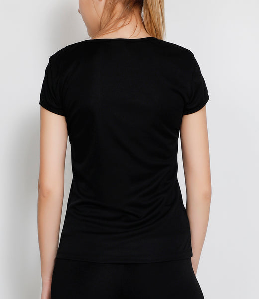 Black & White Oblique T-Shirt