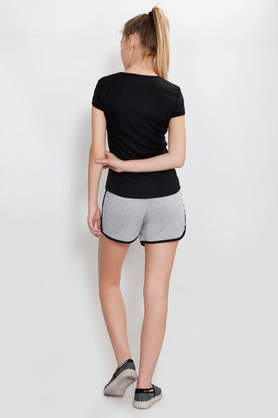 Light Grey Comfy Shorts