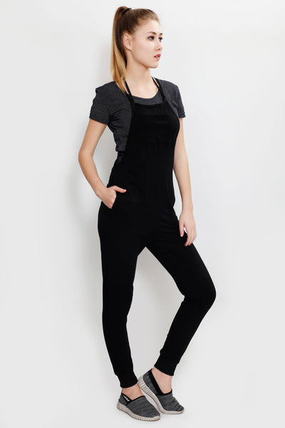 Black Full Length Jumpsuit