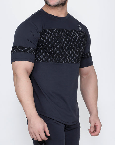 Charcoal Abstract T-Shirt