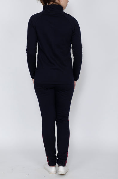 Navy & Pink Thermal Tracksuit