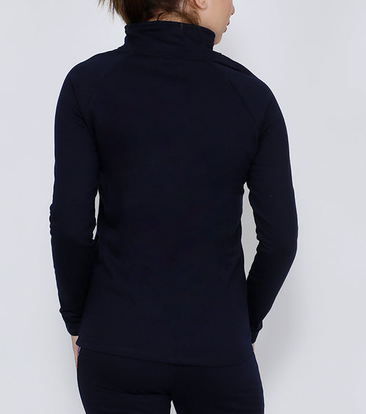 Mauve & Navy Thermal Jacket
