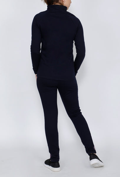 Mauve & Navy Thermal Tracksuit