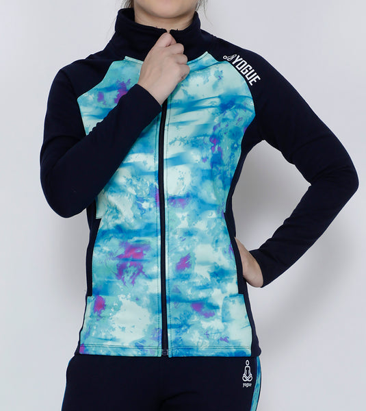 Turquoise Navy Thermal Jacket