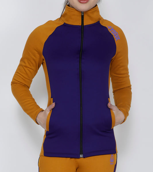 Purple & Gold Thermal Jacket