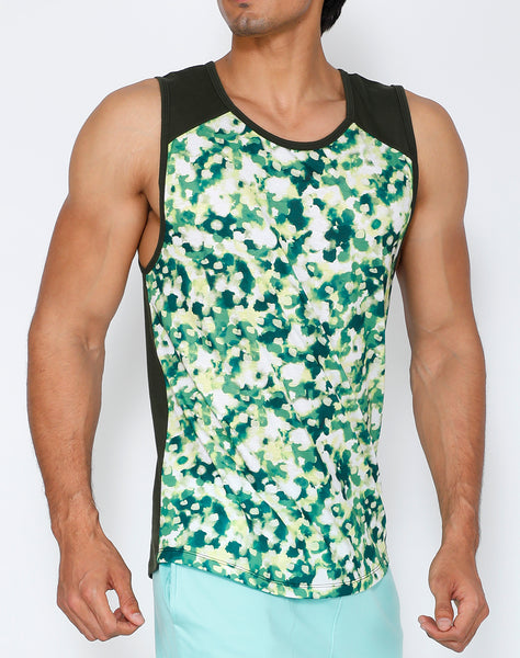 Citrus Hue Cotton Tank
