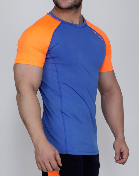 Indian Blue Compression T-Shirt
