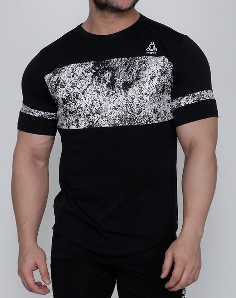 Black & White Atomic T-Shirt