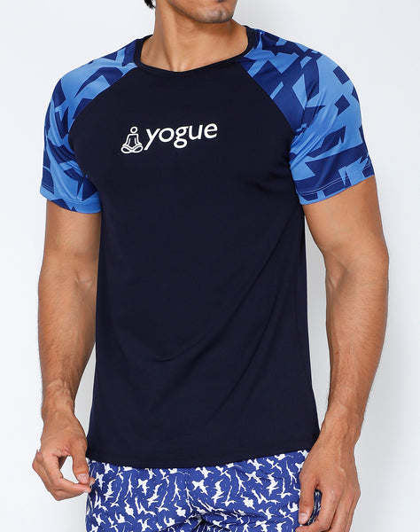 Navy Robin Yogue T-Shirt
