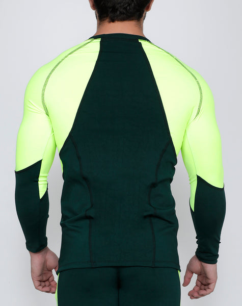 Neon Green Full Sleeve Compression