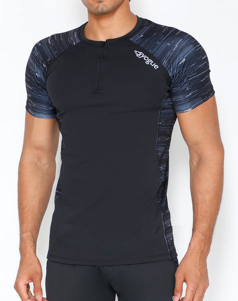 Shades of Grey Compression T-Shirt