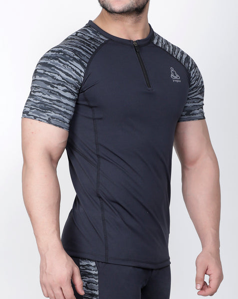 Fierce Grey Compression T-Shirt