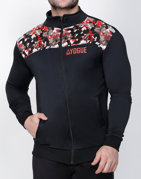 Black Red Trance Jacket