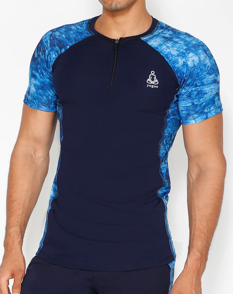 Copper Blue Compression T-Shirt