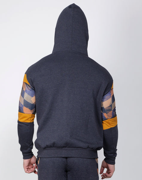 Graphite & Gold Thermal Jacket
