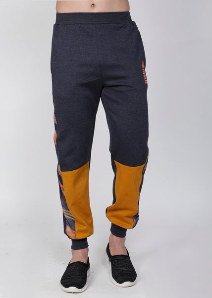 Graphite & Gold Thermal Joggers