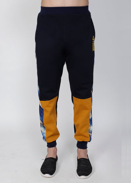 Navy Sunshine Crew-Neck Tracksuit