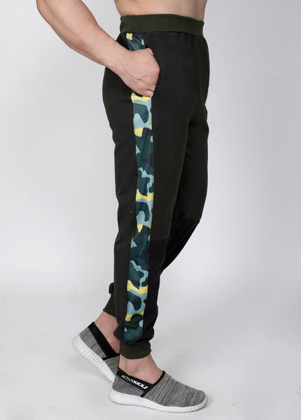 Olive Marine Thermal Joggers