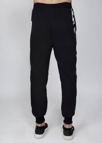 Black & White Thermal Joggers