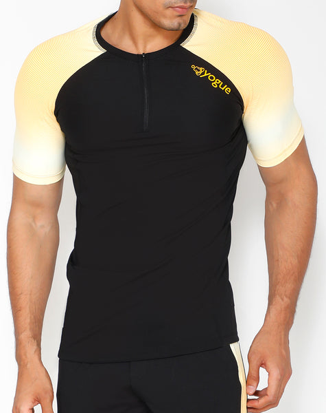 Valencia Yellow Compression T-Shirt