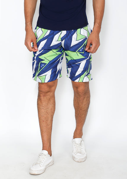 Sharp Blue Boardshorts