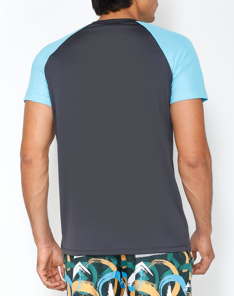 Mineral Blue Roundneck T-Shirt