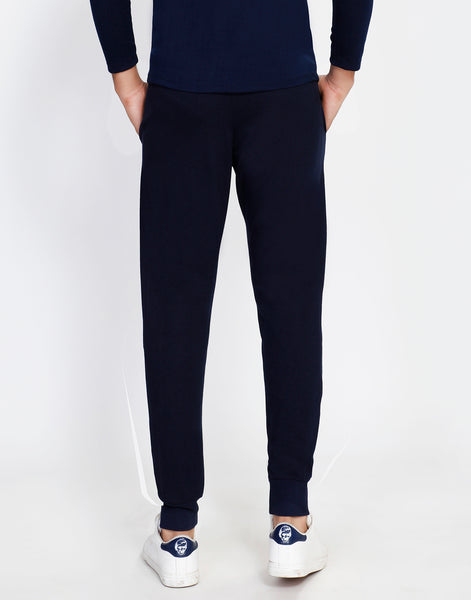 Solid Navy French Terry Joggers