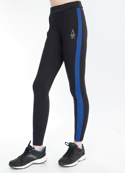 Black Blue Slim Fit Joggers