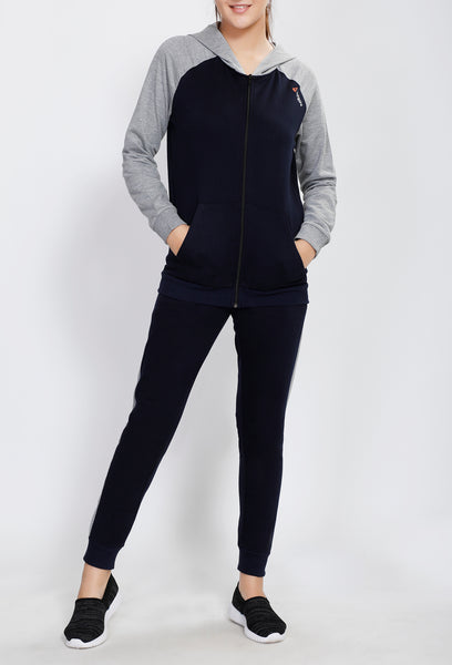 Navy and Grey Tracksuit