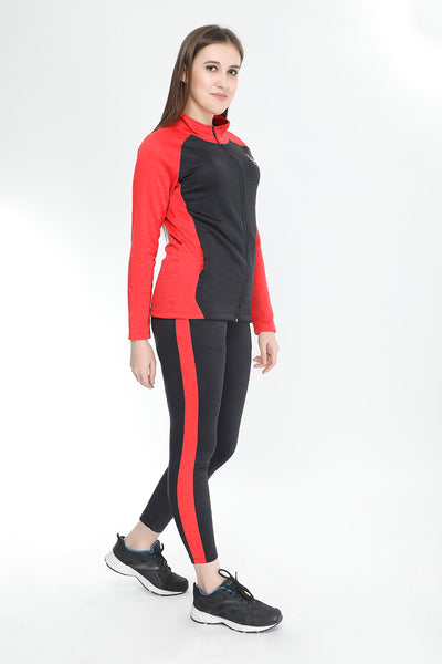 Red and Black Tracksuit